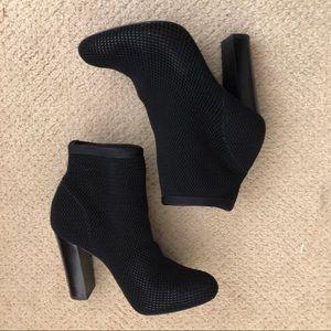 Alexander Wang fishnet boots